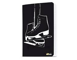 Intermezzo 7675 Figure Ice Skating A5 Notebook