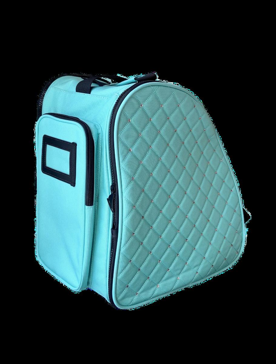 Cube schaatstas/skatebag Twinkle mint