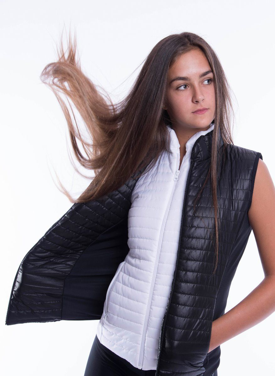 Moka bodywarmer Cortina black