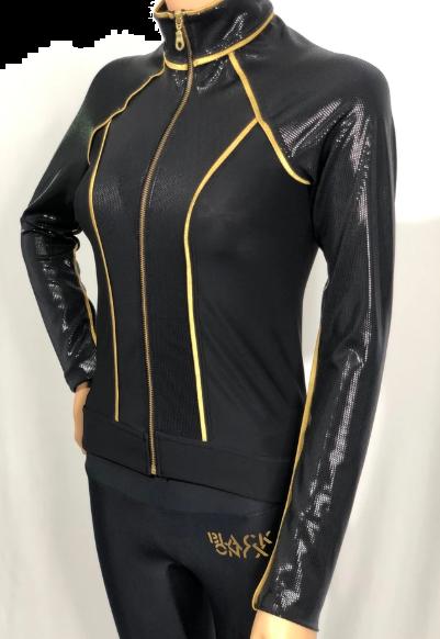Black Onyx Stripe thermo jacket