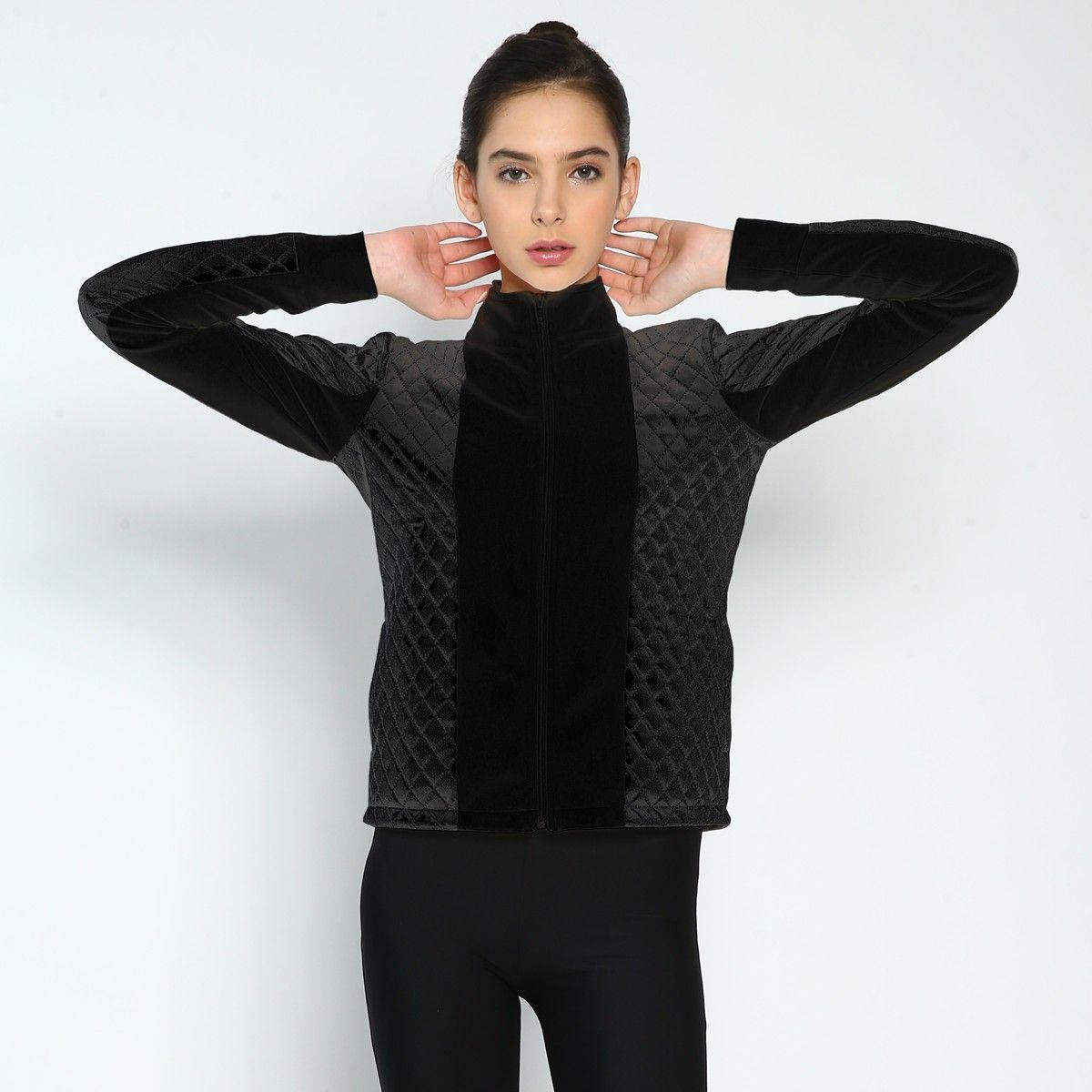 .Pearl Black Aura jacket