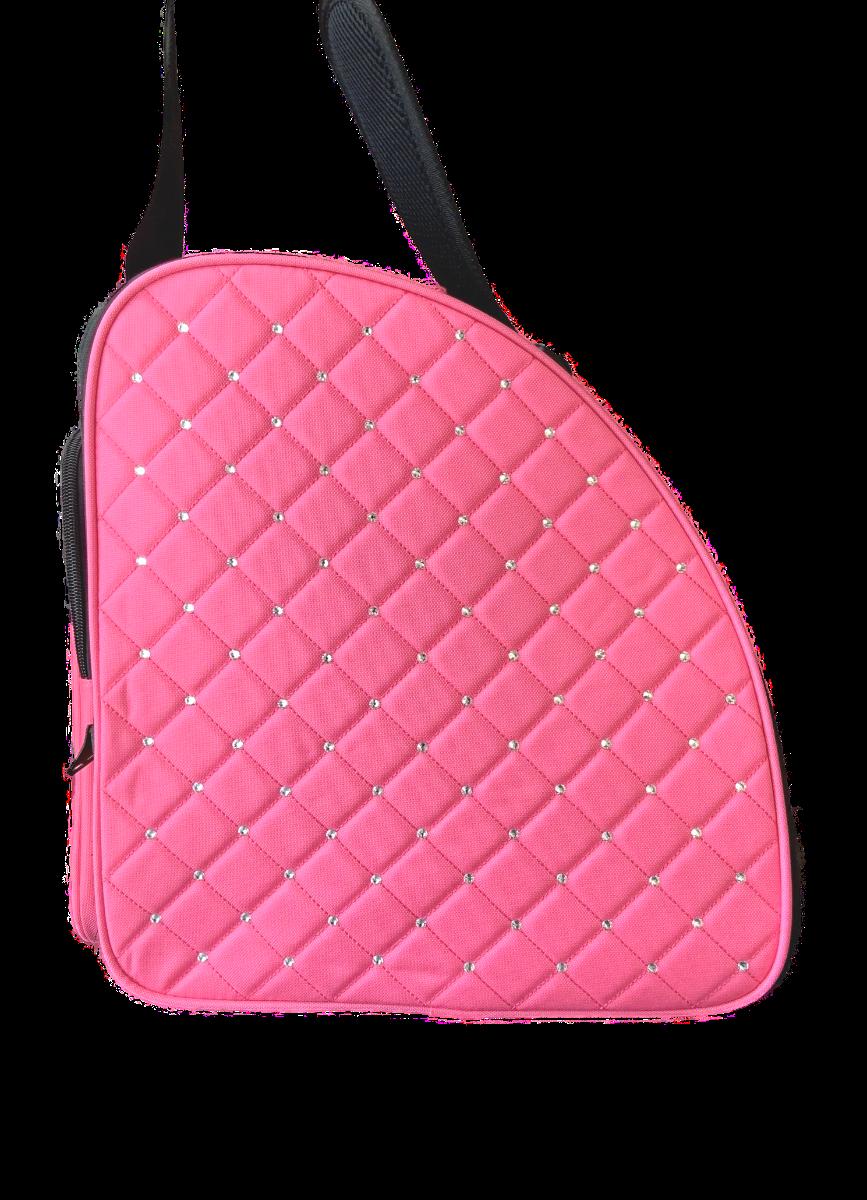 Cube schaatstas/skatebag Twinkle pink