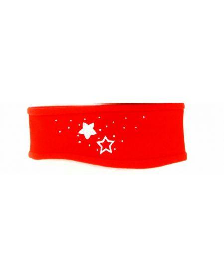 Hoofdband Stars Red