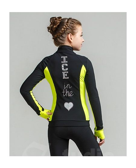 Thermo jacket Silver-Yellow