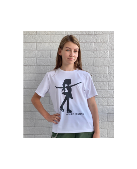 .T-shirt skating girl