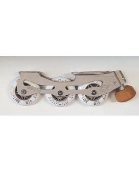 .Narval inlineskate plate+wheels