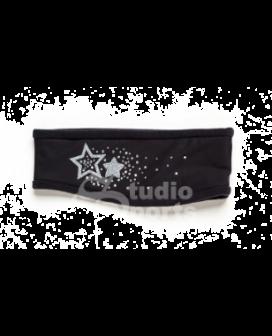 Hoofdband Stars black
