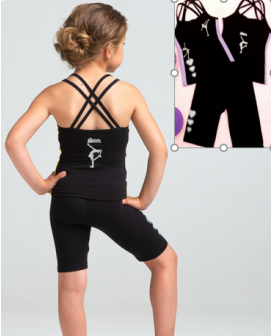 Studiosports summer set Iris black lila