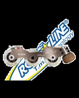 Roll-Line Linea inline skate plate & wheels
