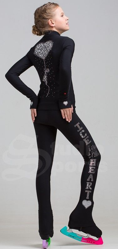Thermoset jacket &legging Ice in the heart