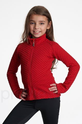 Jiv red quilted jacket