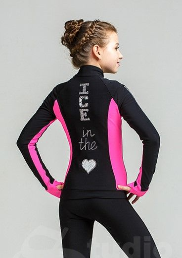 Thermo jacket Silver- Pink