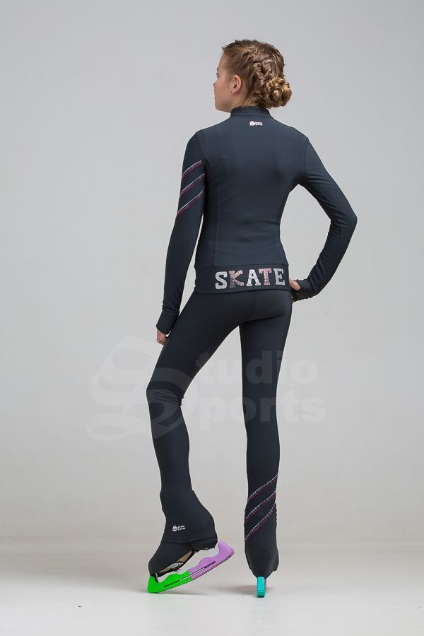 StudioSport Love skate legging dark grey