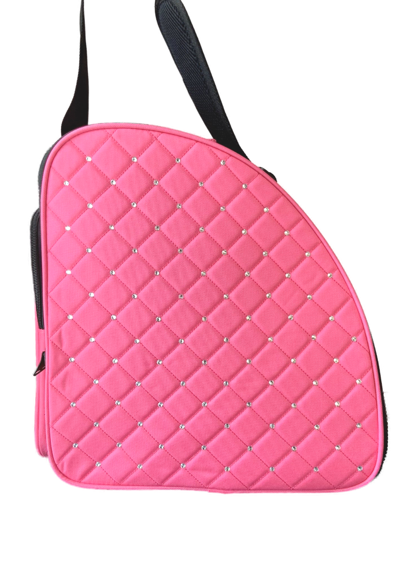 Schaatstas/skatebag Twinkle pink