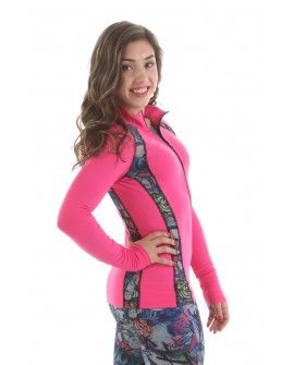EliteXpression Graffiti collection pink training jacket (1520)