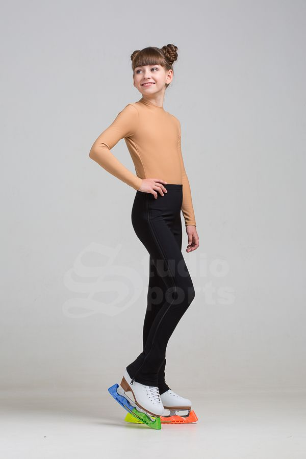Ritsbroek/ zipp up legging