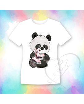 KS shirt panda