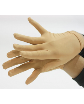 JiV G2 Huidkleurige competitie handschoenen (competition gloves)