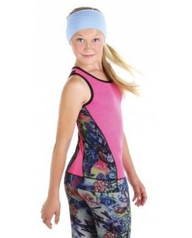 EliteXpression Hot Pink Graffiti Tank Top (1520)